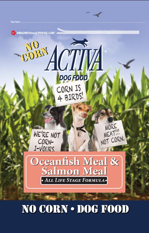 activa dog food