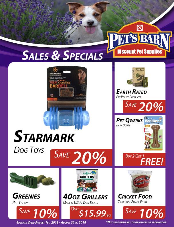 Pet Barn Dog Food Specials
